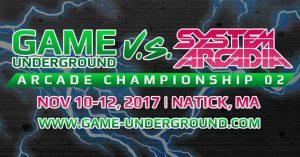 Game Underground Arcade Championships 2 Results