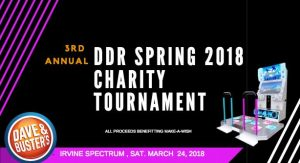 DDR Spring 2018 Tournament at D&B Irvine Results