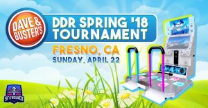 DDR April 2018 Tournament at D&B Fresno Results