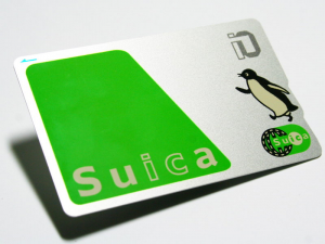 Setting up Suica for e-AMUSEMENT