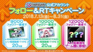 Twitter DDR e-AMUSEMENT PASS Giveaway!