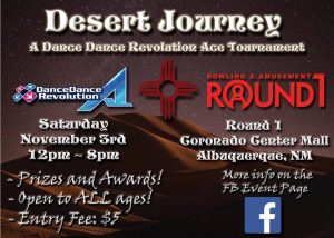 Desert Journey: A Dance Dance Revolution Ace Tournament Results
