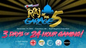 Raj of the Garage 5 Results