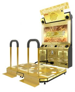DDR A20 Gold Cabinets & WACCA Coming to Round 1 USA