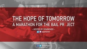 The Hope of Tomorrow Rhythm Gaming Marathon for The Bail Project