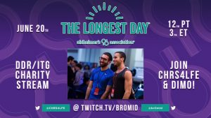 """The Longest Day"" Charity Stream Hosted By dimo & iamchris4life Raises $7,625.69 For Alzheimer's Association"